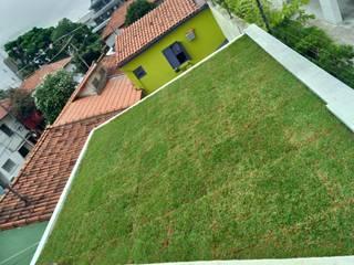 telhado verde por Telhado Verde e Jardim Vertical SP Moderno
