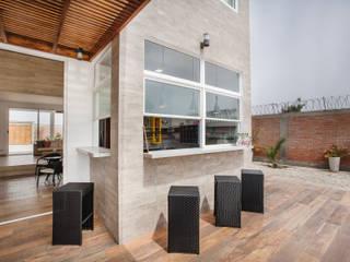 CASA_T de WeisCoello Arquitectos Moderno