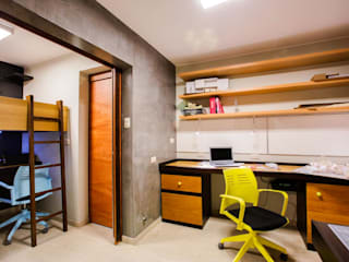 Estudio-Arquitecta_2C Estudios y oficinas modernos de WeisCoello Arquitectos Moderno
