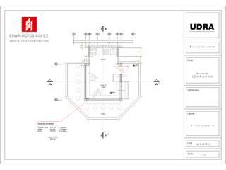 Kiosko comercial UDRA - Año 2010 de EHG arquitectura y construcción