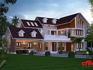 Top Ten Architects in Kochi Creo Homes Pvt Ltd Asian style houses
