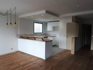 rénovation appartement par Gattepaille architecture Moderne