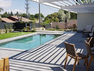 Garden Pool by MODULAR HOME