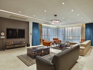 Modern Living Room by Milind Pai - Architects & Interior Designers Modern