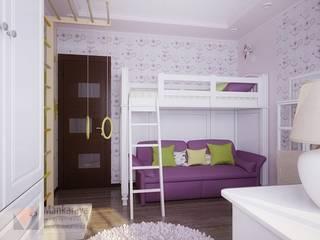 3-х комнатная квартира на Клыкова:  в современный. Автор – Дизайн-студия 'Mankaraya', Модерн