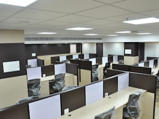 Finance Bank projects - Chennai Country style study/office by Sri Paamban Interiors Country