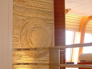 Décor mural artistique en mosaique: Murs de style  par Stuc Mosaic