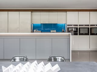 John Ladbury kitchen in Hertfordshire John Ladbury and Company Dapur Minimalis
