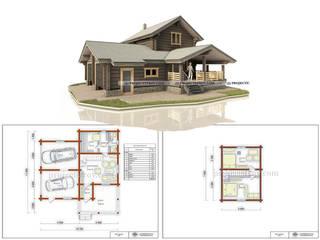 проект бани и гаража: Срубы в . Автор – Projectstroy
