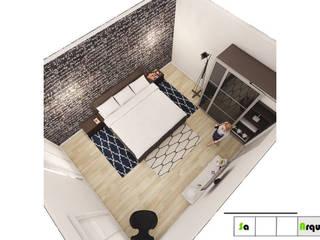 Diseño y Decoración de Espacios Modernos y vanguardistas : Habitaciones de estilo  por SaArquitectos,