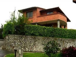 DISEÑO ARQUITECTÓNICO - CONJUNTO CAMPESTRE  CASTELLÓN DE LA FLORIDA: Casas campestres de estilo  por Paula Rave Interiorismo,