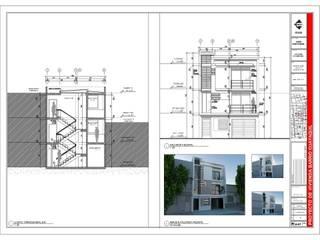 Edificio aparta-estudios CALI - Año 2013 de EHG arquitectura y construcción