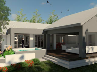 House Strubenkop - Architectural Renovation :  Houses by Nuclei Lifestyle Design,