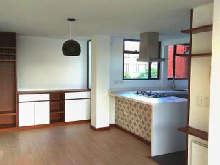 Apartamento Orduña - Delgado: Cocinas de estilo  por EVA Arquitectos SAS,