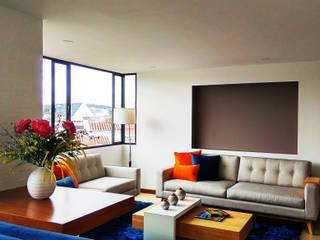 Apartamento Orduña - Delgado: Salas de estilo  por EVA Arquitectos SAS,