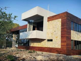 QUINTA MI CHULA: Casas ecológicas de estilo  por MARQUITECTURA