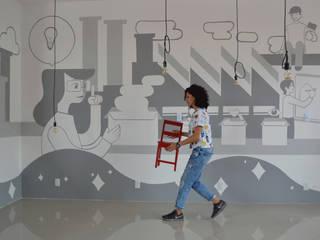 The Amazing Gift Co. :  de estilo industrial por S P A C E L A B , Industrial