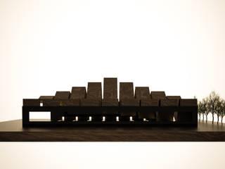 Roofing de 3D Render Minimalista