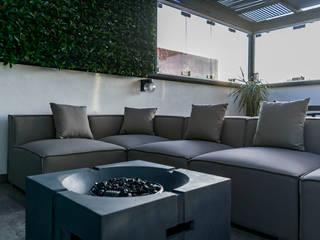 Balcon, Veranda & Terrasse modernes par AU Lab Moderne