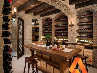 Bodegas de estilo clásico de Atrium Vale Pedras e Projetos Clásico