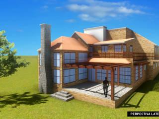 Proyecto Soltepec, Casa Habitación de Arquitectos Rosette Rivera Rústico