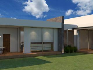 PROYECTO CASA TOSCANA Casas modernas de ARQUITECTURA INFINITO Moderno