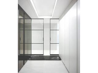 WITHJIS(위드지스) الممر الحديث، المدخل و الدرج ألمنيوم/ زنك Black