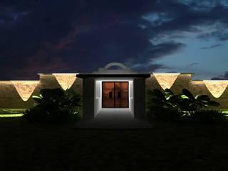 Jardin de eventos Villas Yecapixtla Locaciones para eventos de estilo colonial de Neofusion S.A. de C.V. Colonial