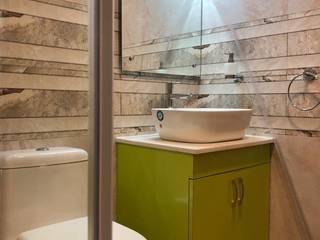 Interior Design of Bathroom:  Bathroom by Cee Bee Design Studio