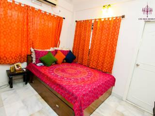 Bedroom Interior Design:  Bedroom by Cee Bee Design Studio