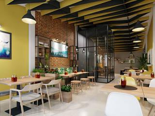 thiết kế nội thất nhà hàng:  Phòng giải trí by công ty thiết kế nhà hàng & quán cafe Hiện đại CEEB