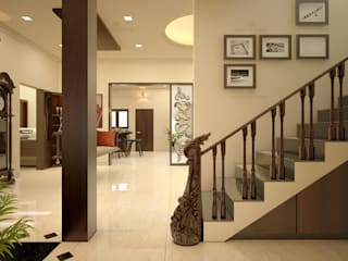 Best Architects & Interior designers in kochi, kerala Classic style living room by Monnaie Architects & Interiors Classic