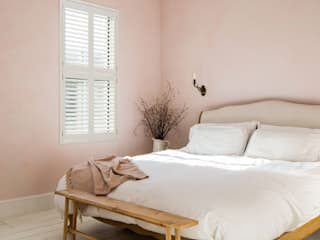 Minimal on Content But Huge on Style Plantation Shutters Ltd Petites chambres MDF Blanc