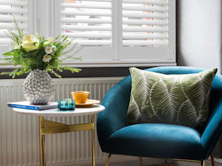 A Modish home in Southfields by Plantation Shutters Ltd Modern