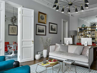 Living room by DelightFULL, Scandinavian
