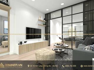 Thiết kế nội thất chung cư hiện đại đường Nguyễn Công Hoan– Chị Hạnh bởi Thiết kế - Nội thất - Dominer