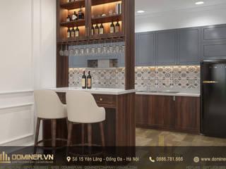 Thiết kế nội thất chung cư Sun Grand City - Chị Hồng Anh bởi Thiết kế - Nội thất - Dominer