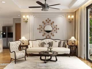 Thiết kế nội thất chung cư phong cách tân cổ điển GoldMark - Anh Tiền bởi Thiết kế - Nội thất - Dominer