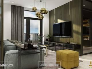 Thiết kế nội thất chung cư Imperia Garden Nhà Chị Ninh - 130m2 bởi Thiết kế - Nội thất - Dominer