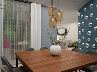 Nowoczesna jadalnia od Citlali Villarreal Interiorismo & Diseño Nowoczesny