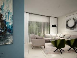 Citlali Villarreal Interiorismo & Diseño Soggiorno moderno