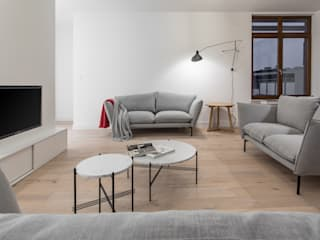 Living room by emDesign home & decoration, Minimalist