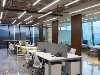 Oficina Brohez Arquitectos: Estudios y oficinas de estilo  por Brohez arquitectos