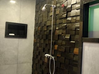 Salle de bains de style  par Rebello Pedras Decorativas, Moderne