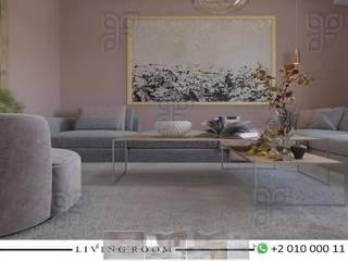 Salon de style  par UTOPIA DESIGNS AND CONSTRUCTION, Moderne
