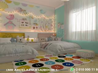 Chambre fille de style  par UTOPIA DESIGNS AND CONSTRUCTION, Moderne