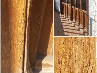 Carpinteria en casa residencial, piso parquet y duela, puertas, escalera de Decoración y Arquitectura
