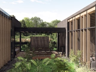 Country house by C_arquitectos , Modern
