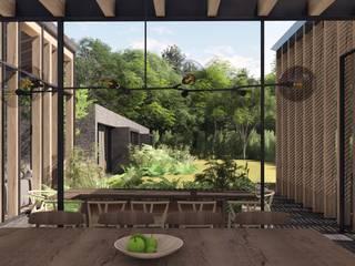 Salle à manger de style  par C_arquitectos