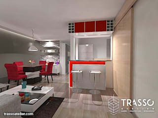 Moderne Küchen von TRASSO ATELIER Modern